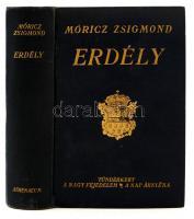 Móricz Zsigmond: Erdély. Tündérkert. A nagy fejedelem. A nap árnyéka. Bp., 1935, Athenaeum. Kiadói aranyozott egészvászon kötés.