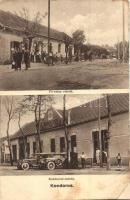 Kondoros, Fő utca, Kondorosi-Csárda automobilokkal (r)