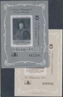 2003 2 db Rákóczi Ferenc emlékív