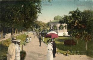 Komárom, Komárno; Park, pavilon / park with pavilion