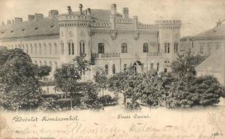 Komárom, Komárno; Tiszti kaszinó / casino (fa)