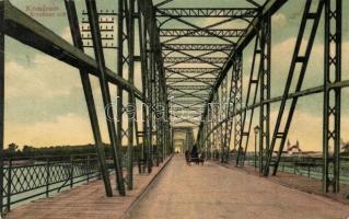 Komárom, Komárno; Erzsébet híd / bridge