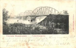 Komárom, Komárno; Vashíd / bridge (fl)