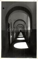 Komárom, Komárno; Várfolyosó, belső / castle corridor, interior