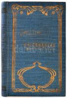 Tanfi Iván: Költemények. Bp., 1905. Lampel, Aranyozott egészvászon kötésben. 128p.