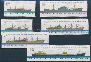 1961 Hajó sor Mi 1238-1243