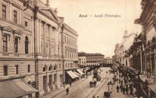 Arad, Aczél Péter utca, kiadja Oláh Sándor és Társa / street