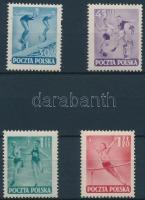 1952 Sportnap sor Mi 750-753