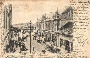 Kisvárda, Fő piac, Fülöp Farkas és Major István üzlete