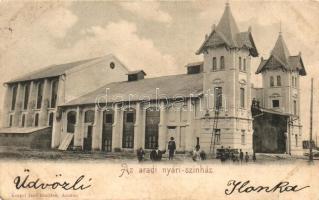 Arad, Nyári színház, kiadja Kerpel Izsó / theatre (ázott / wet damage)
