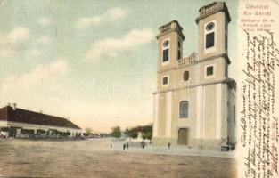 Kisbér, Batthyányi tér, Kossuth Lajos utca (EB)