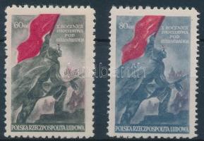1953 Sztálingrád sor Mi 791-792