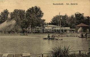 Buziásfürdő, Buzias; Szent Antal tó / lake