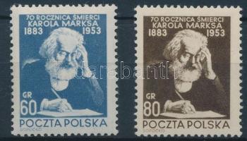 1953 Karl Marx sor Mi 795-796