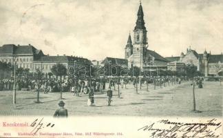 Kecskemét, tér, piac