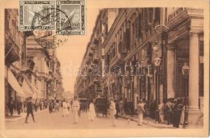Alexandria, Cherif-Pacha street, shops, TCV Card (EK)