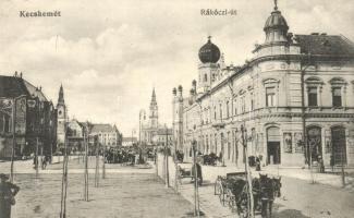 Kecskemét, Rákóczi út, zsinagóga