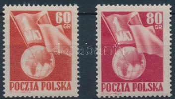 1953 Munka napja sor Mi 797-798