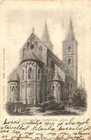 Ják, templom észak-keleti oldala