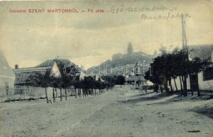 Pannonhalma, Győrszentmárton, Szentmárton; Fő utca (EK)