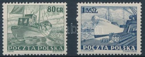 1953 Kereskedelmi flotta sor Mi 807-808