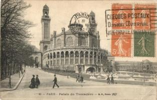 Paris, Palais du Trocadéro / palace, TCV card (EK)