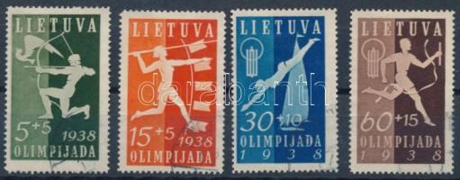 1938 Sport sor Mi 417-420 (Mi EUR 60,-)
