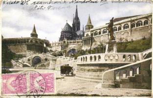 Budapest I. Halászbástya, TCV Card (fa)