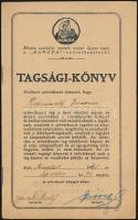 1941 A HANGYA Szövetkezet tagsági könyve