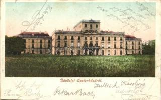 Eszterháza, Herceg Esterházy várkastély (vágott / cut)