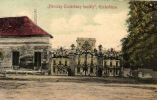 Eszterháza, Herceg Esterházy várkastély