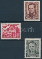1953 Néphadsereg sor Mi 818-820