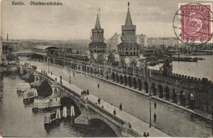 Berlin - 2 db RÉGI városképes képeslap, vár, híd / 2 pre-1945 townview postcards, castle, bridge