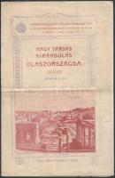 1904 Nagy társas kirándulás Olaszországba, az Idegenforgalmi és Utazási Vállalat Rt. Központi Menetjegyirodájának prospektusa