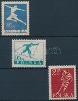 1953 Télisportok sor Mi 831-833
