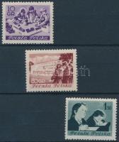 1953 Gyermek sor Mi 834-836 A