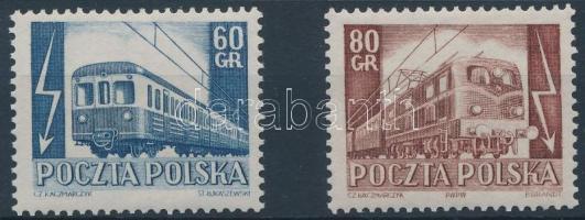 1954 Vasút sor Mi 837-838