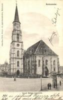 Kolozsvár, Cluj; Szent Mihály templom / church (Rb)
