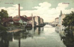 Kolozsvár, Cluj; Szamos / river bank (EK)