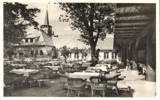 Budapest XIX. Kispest, Petőfi tér 6. Papp József a ponty szálkamentesítés feltalálójának Gödör Halásztanya étterme, kerthelyiség