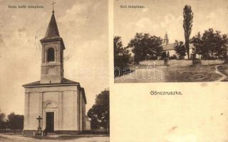 Göncruszka, Római katolikus és református templomok (EK)