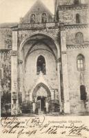 Gyulafehérvár, Alba Iulia; Székesegyház főbejárata / cathedral entry (Rb)