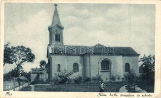Ács, Római katolikus templom és iskola (EK)