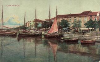 Crikvenica, Cirkvenica; Kikötő / port (b)