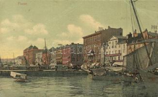 Fiume, Rijeka; Kikötő / port (EB)