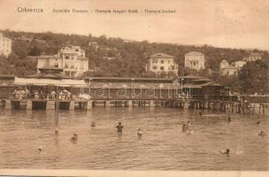 Crikvenica, Cirkvenica; Therapia tengeri fürdő / spa