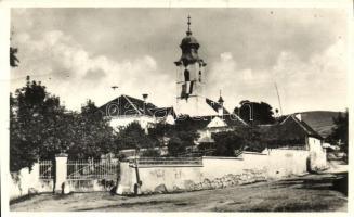 Csíkszentmiklós, Nicolesti; római katolikus templom és paplak, Fehér László kiadása / church, rectory (EB)
