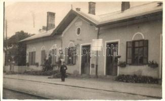 Gelse, vasútállomás, photo