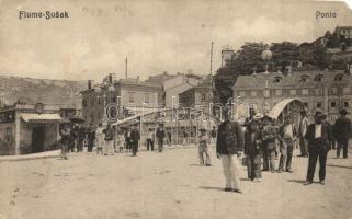Fiume, Rijeka, Susak; Híd / bridge (EM)