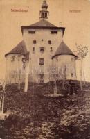 Selmecbánya, Banská Stiavnica; Leányvár, Grohmann kiadása / castle (EK)